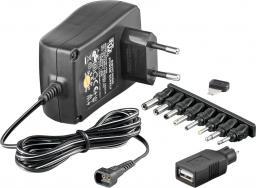 MicroConnect 3-12V Univ. Power Supply (PETRAVEL30)