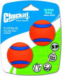 Chuckit! ULTRA BALL SMALL 2PAK (17020)