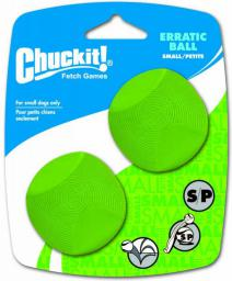 Chuckit! ERRATIC BALL SMALL 2PAK (20110)