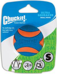 Chuckit! ULTRA SQUEAKER BALL SMALL (52070)