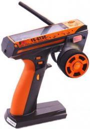 FlySky Radio pistoletowe FS-GT3C 3CH 2,4GHz z wyświetlaczem + odbiornik GR3E (FS-GT3C+GR3E)