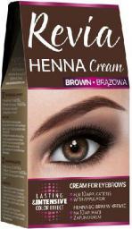 Verona Revia Henna do brwi w kremie Brązowa 15 ml