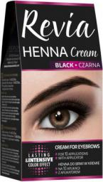 Verona Revia Henna do brwi w kremie Czarna 15 ml