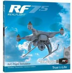 Great Planes Symulator Realflight RF7.5 SLT Wireless Transmitter Interface Edition