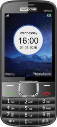 Telefon komórkowy Maxcom MM 320 Czarny