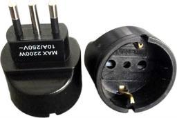 MicroConnect Uniwersalny adapter Italy/Schuko (PETRAVEL2B)