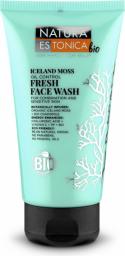 Natura Estonica BIO Oczyszczający ŻEL do mycia twarzy o działaniu matującym Płucnica Islandzka 150ml