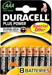 Duracell Bateria AAA / R03 8szt.
