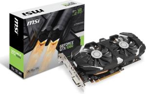Karta graficzna MSI GeForce GTX 1060 6GT OCV1 6GB GDDR5 (192 Bit) DVI, HDMI, DP, BOX (GTX 1060 6GT OCV1)
