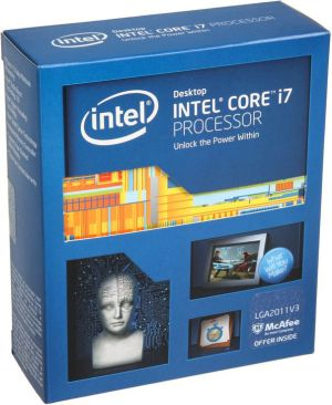 Procesor Intel Core i7-5820K, 3.3GHz, 15MB, BOX (BX80648I75820K)
