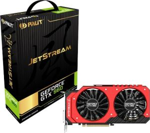 Karta graficzna Palit GeForce GTX 960 JetStream 2GB GDDR5 (128 bit) 2x DVI, HDMI, DP (NE5X960H1041J)