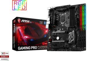 Płyta główna MSI Z170A GAMING PRO CARBON, Z170, DDR4, SATA3, USB 3.1, ATX