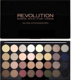 Makeup Revolution Ultra Palette 32 Zestaw cieni do powiek Flawless  (32 kolory) 16g