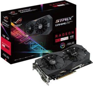 Karta graficzna Asus Radeon RX 470 4GB GDDR5 (256 Bit) 2xDVI-D, HDMI, DP, BOX (STRIX-RX470-O4G-GAMING)