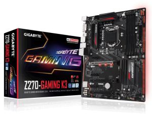 Płyta główna Gigabyte GA-Z270-Gaming K3, Z270, DDR4, HDMI, DVI-D, ATX
