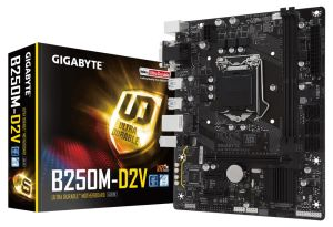 Płyta główna Gigabyte GA-B250M-D2V, B250, DDR4, DVI, VGA, mATX