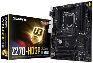 Płyta główna Gigabyte GA-Z270-HD3P, Z270, DDR4, M.2, SATA, USB 3.1 Gen 2