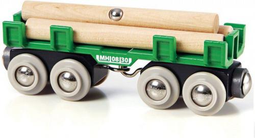 Brio Wagon z drewnem (33696)