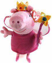 Meteor Maskotka Beanie Babies Lic PEPPA PIG - Princess reg (8421461295)