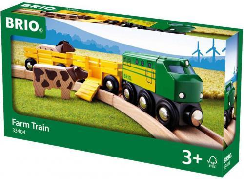 Brio Farm Train (33404)