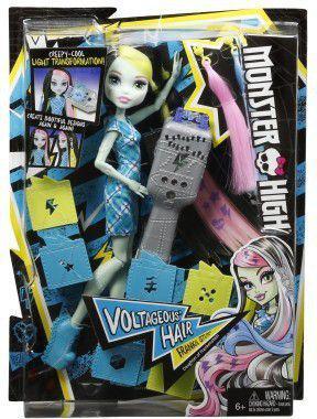 Mattel Monster High Frankie elektryzujące włosy - DNX36