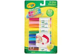 Russell B034. 75-2211 COLOR WONDER- 10 MINI MARKEROW - 71662122119