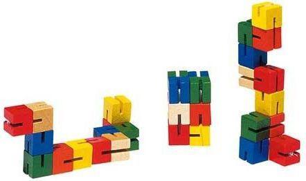 Goki Klocki elastyczne Mini, manulana układanka (GOKI-HS 012)