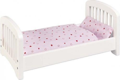 Goki Białe łóżeczko (51734)