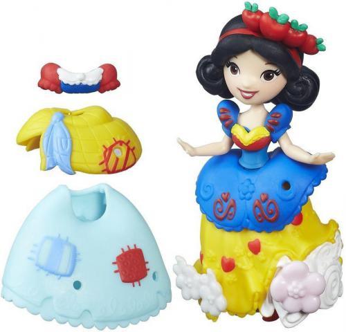 Hasbro Disney Princess Mini Laleczka z sukienką Śnieżka (B5327/B5330)