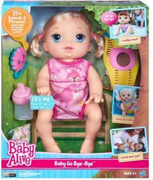 Hasbro Baby Alive Raczkujący Maluszek (B6048)