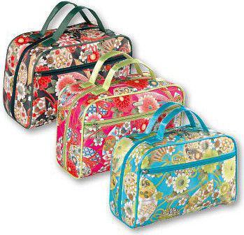 TOP CHOICE Kosmetyczka damska Silk kufer torba (92589)
