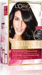 L´Oreal Paris Excellence Creme Hair Colour Farba do włosów 1 Czerń 1szt