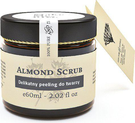 Make Me Bio Almond Scrub Delikatny peeling do twarzy 60ml