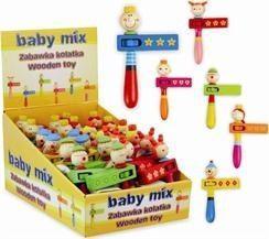 Baby Mix ZABAWKA DREWNIANA-KOŁATKA (AX0690)