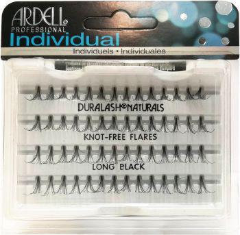 Ardell Individual Long czarne (W) kępki sztucznych rzęs 56 szt