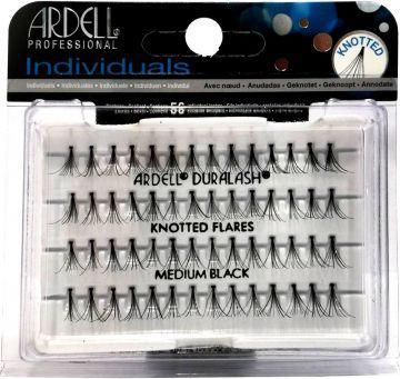 Ardell Individuals Medium czarne (W) kępki sztucznych rzęs czarne 56 szt
