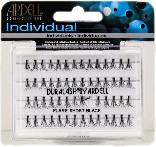 Ardell Individuals Short Black - kępki sztucznych rzęs 56 szt