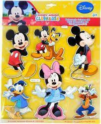 Marko Dekoracje ścienne, Zestaw 3D, Mickey i przyjaciele (SPH-111)