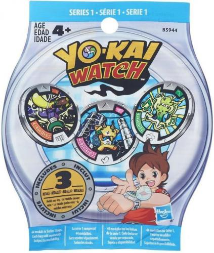 Hasbro Yokai - Torebki niespodzianki medale  (YKAB5944)