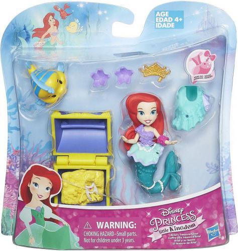 Hasbro Arielka Disney Princess Mini Laleczka Z Akcesoriami  (DPRB5334)