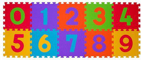 Babyono 274-PUZZLE PIANKOWE 10SZT CYFRY (ON-1270)
