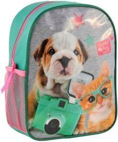 Paso Plecak Studio Pets zielono-różowy
