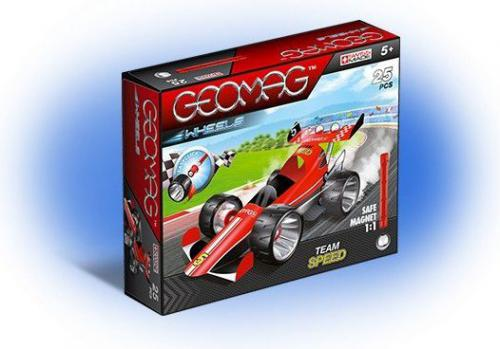 Geomag Wheels Czerwony Team Speed 710 (GEO-710)