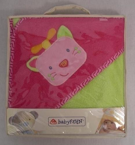 FEHN Ręcznik kąpielowy z kapturem, kotek (FE0357)
