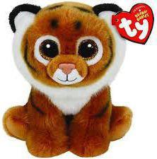 TY Beanie Tiggs - Tygrys  (209801)