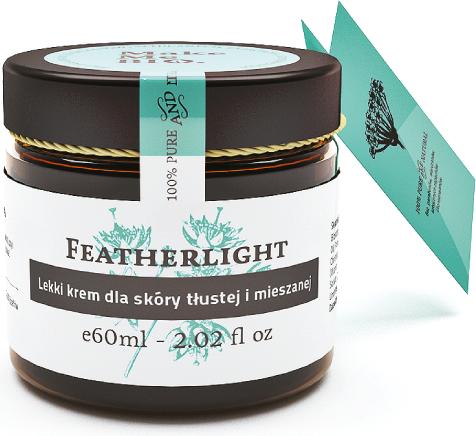 Make Me Bio Featherlight Lekki krem dla skóry tłustej i mieszanej 60ml