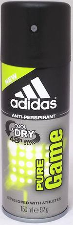Adidas Active Bodies Cool Dry 48H Pure Game Dezodorant w sprayu 150ml