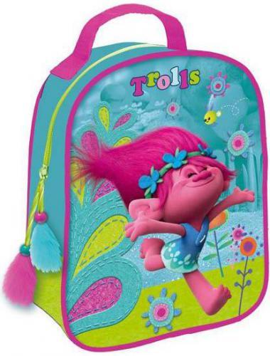 Starpak Plecak mini Trolls turkusowo-różowy (363469)
