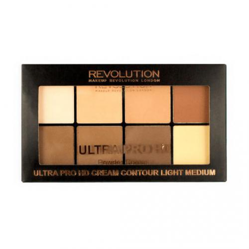 Makeup Revolution Puder HD Pro Light-Medium 20g