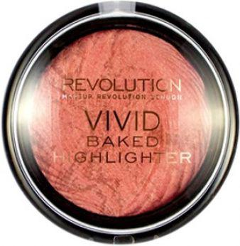 Makeup Revolution Vivid Baked Highlight Rozświetlacz do twarzy Rose Gold Lights 7,5g